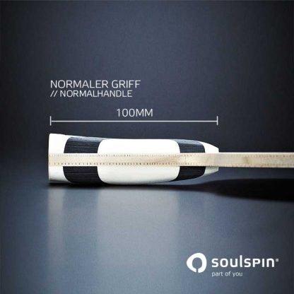 소울스핀의 공격전형 탁구 라켓 루츠 3 스핀 오펜시브 측면