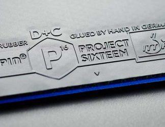빠른 탁구 러버 파란색 스펀지 프로젝트 16을 소울스핀 탁구 스토어에서 구매하세요
